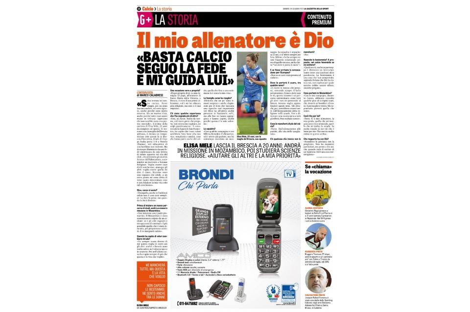 Gazzetta dello Sport – 24/06/2017