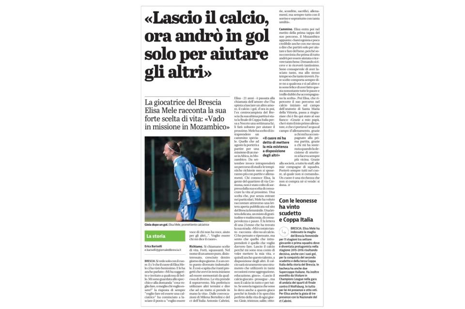 Giornale di Brescia – 24/06/2017