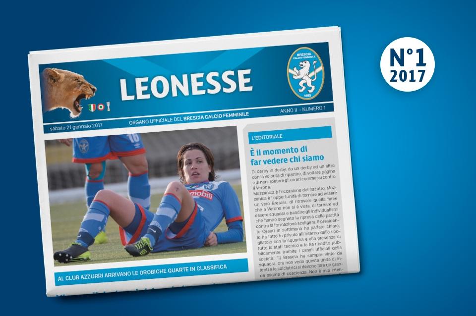 Il primo numero del 2017 di Leonesse – gen. 2017
