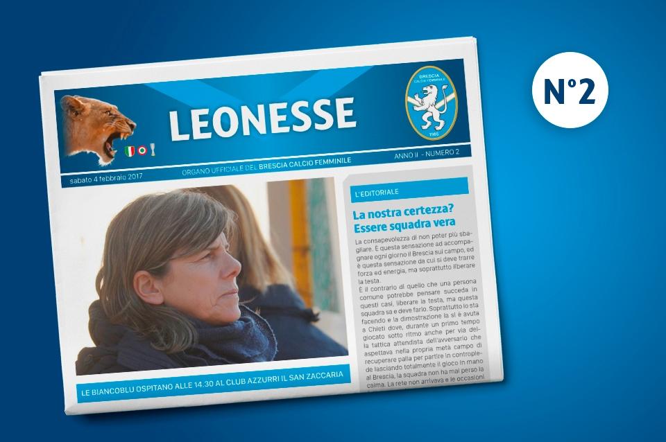 Leonesse: secondo numero del 2017 – feb. 2017