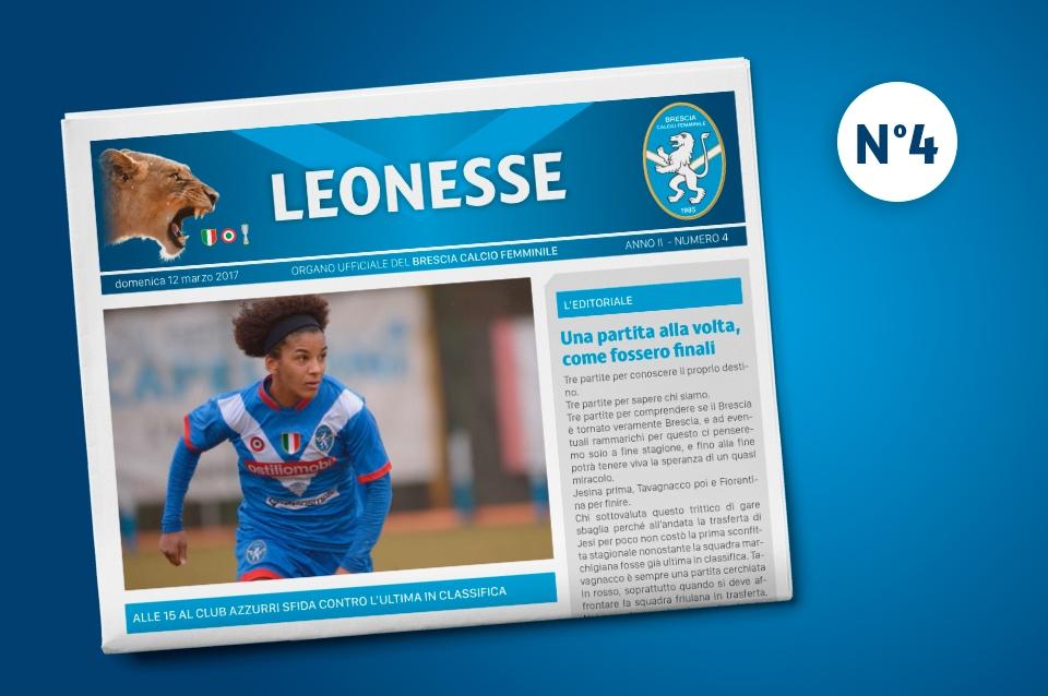 Disponibile il 4° numero di Leonesse – mar. 2017
