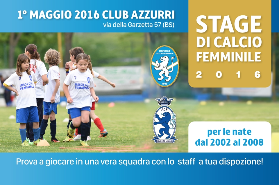 STAGE DI CALCIO FEMMINILE 2016