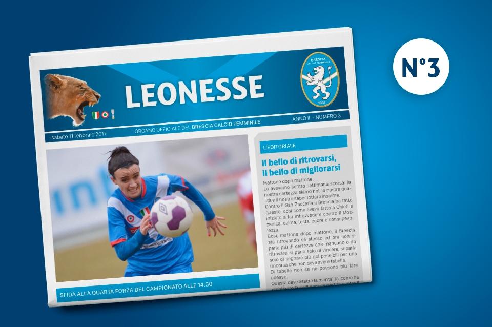 E' disponibile il terzo numero di Leonesse