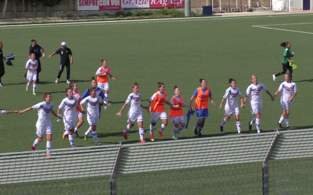 Leonesse, il campionato inizia al meglio: 6-0 in trasferta al Bari