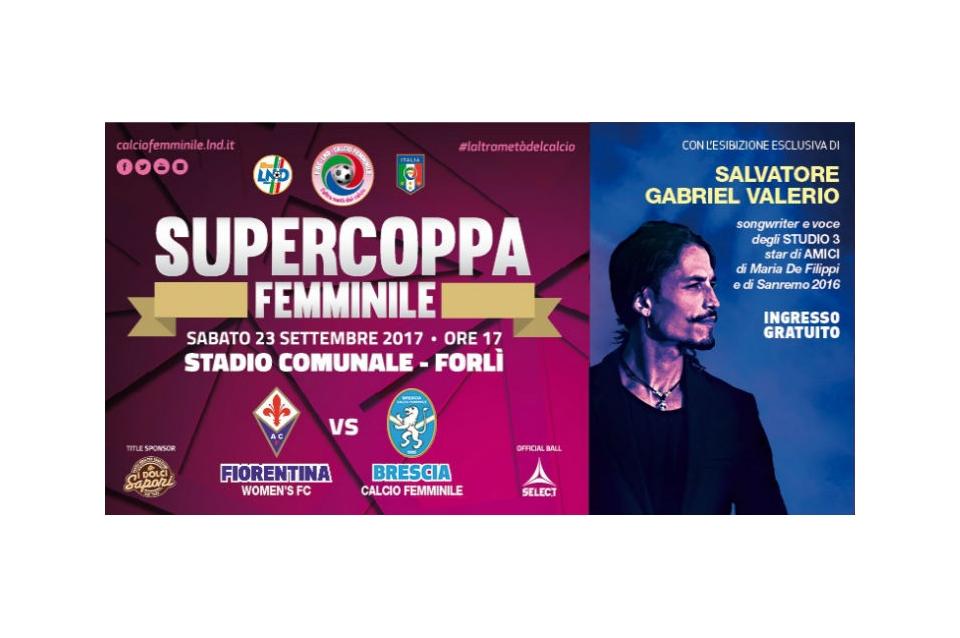 Supercoppa, Fiorentina-Brescia avrà grande copertura mediatica