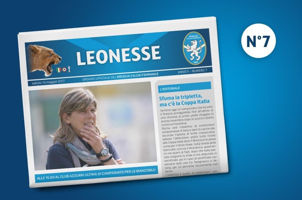 E' uscito il settimo numero di Leonesse – mag. 2017