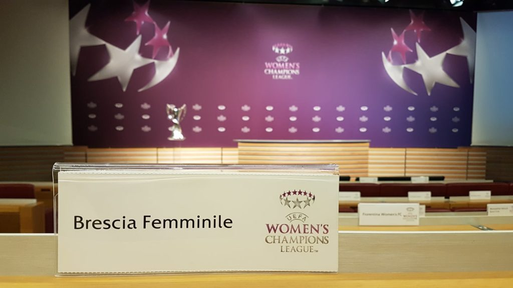 Uefa Women's Champions League, agli ottavi sarà Brescia CF-Montpellier