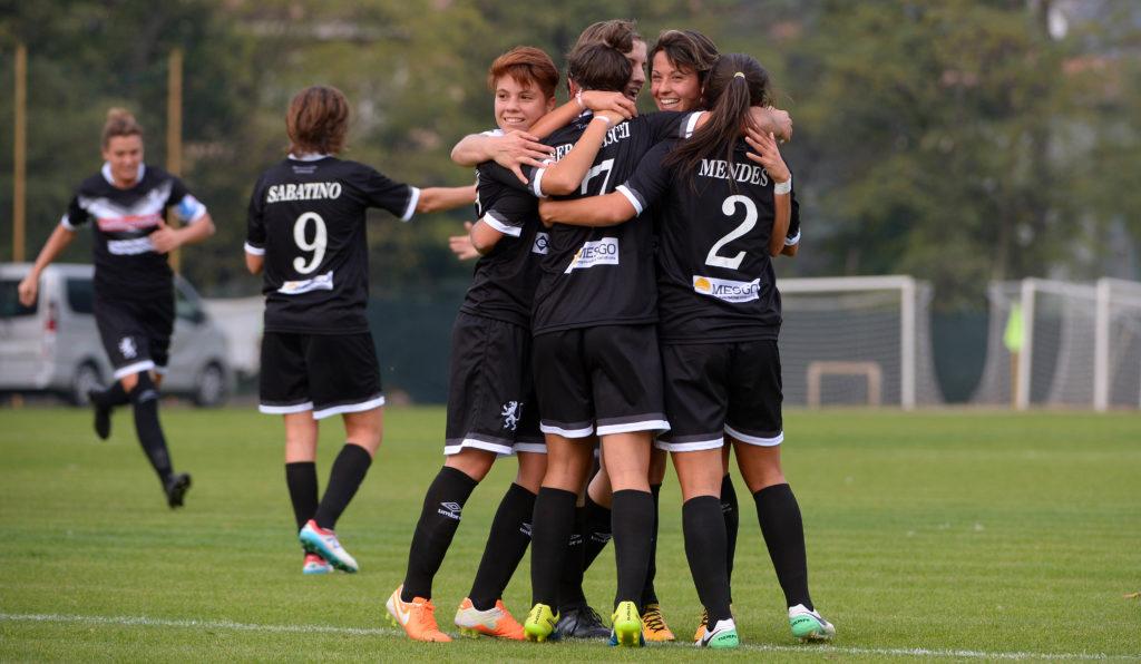 Brescia CF sontuoso, due ruggiti annientano il Tavagnacco