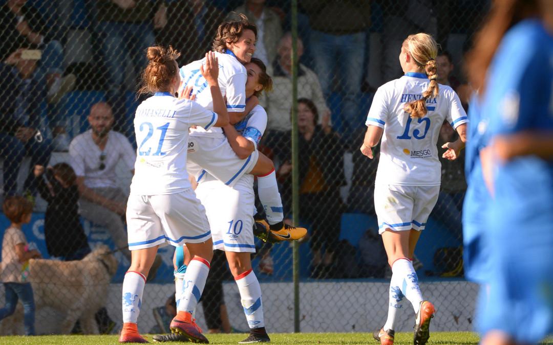 Brescia CF, con il Sassuolo una vittoria di carattere
