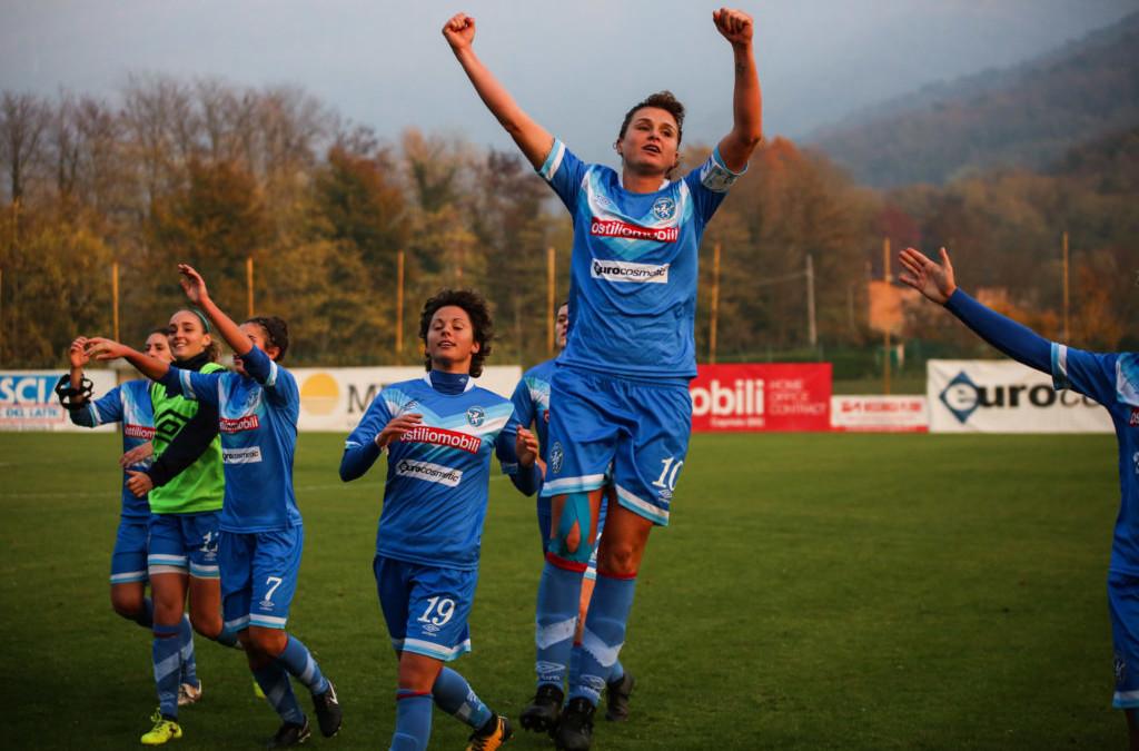 Brescia CF-Res Roma, le leonesse trionfano 4-1!