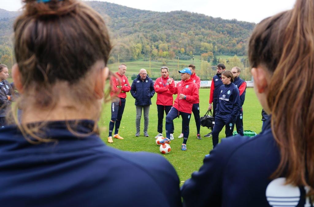 Rifinitura al Club, sono 21 le convocate per il Montpellier