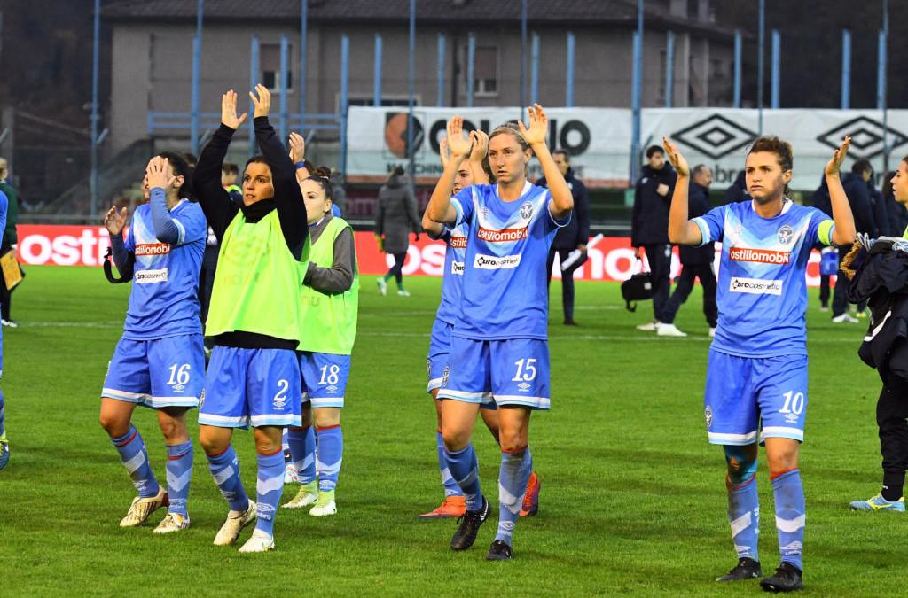 Brescia CF, con il Montpellier sconfitta piena di rammarico