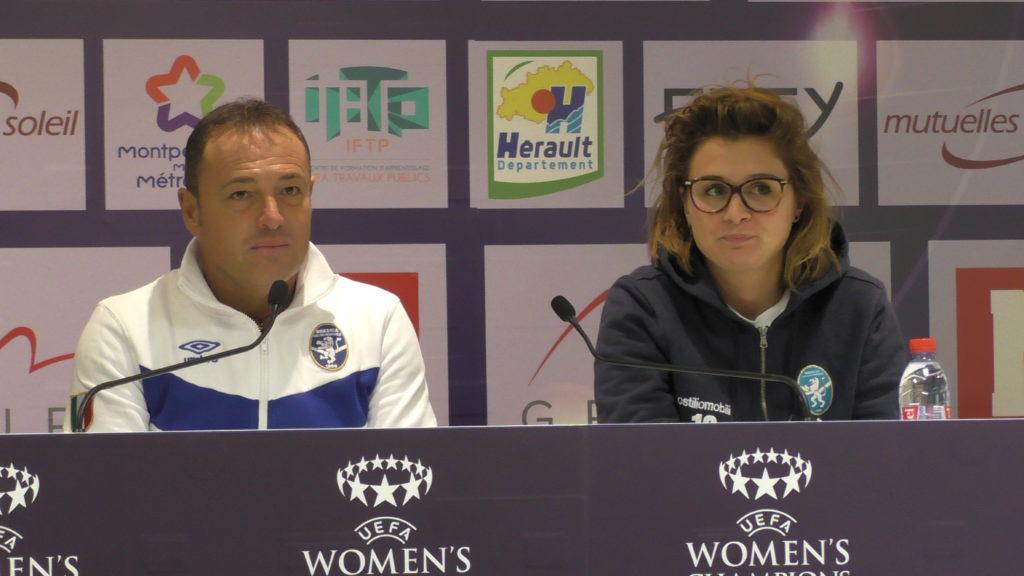 Rifinitura allo stadio La Mosson, 21 le convocate per il Montpellier