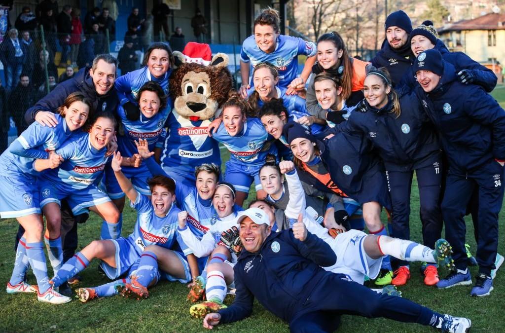 Brescia CF-Res Roma, quattro sorrisi per brindare la fine del 2017