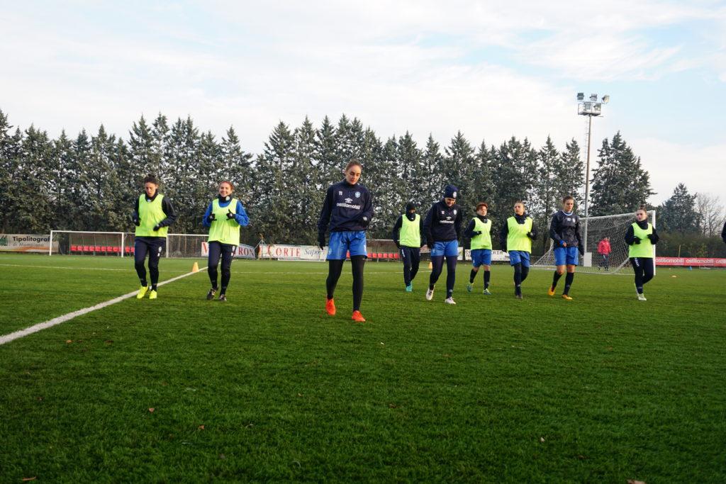 Brescia CF-Res Roma, sono 18 le convocate da mister Piovani
