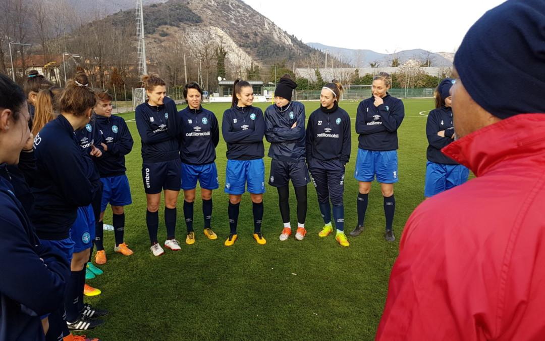 Rientrate quasi tutte le leonesse, inizia la settimana di Brescia CF-Verona