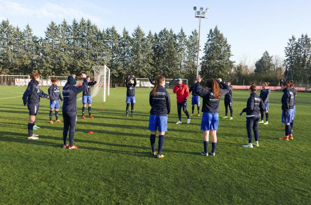 """Empoli Ladies-Brescia CF, 19 leonesse convocate. Piovani: """"Massima concentrazione"""""""