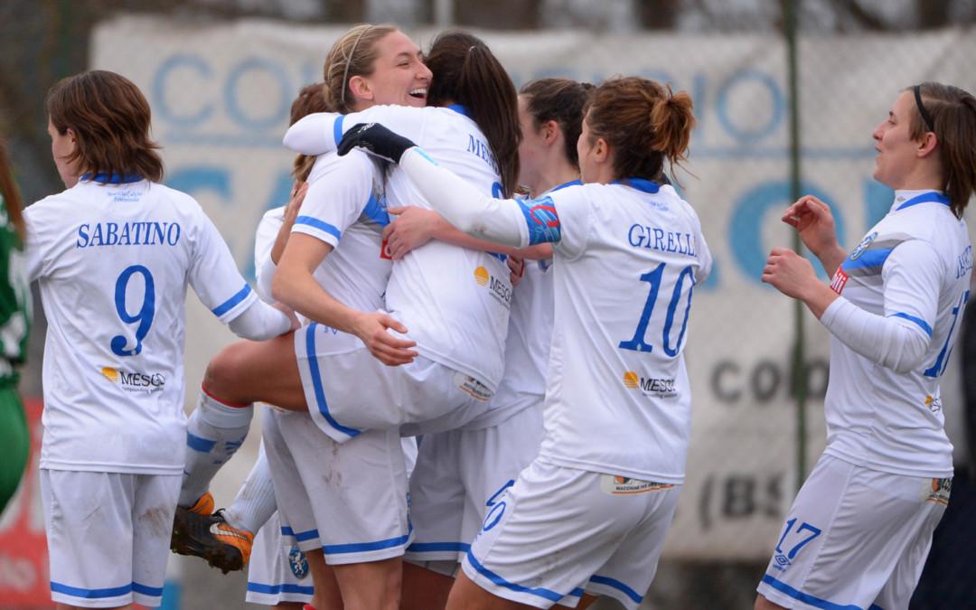 Coppa Italia, le leonesse battono 5-1 l'Inter e volano ai quarti