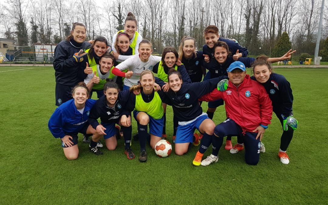 Brescia Calcio Femminile, ultimo allenamento prima delle vacanze pasquali