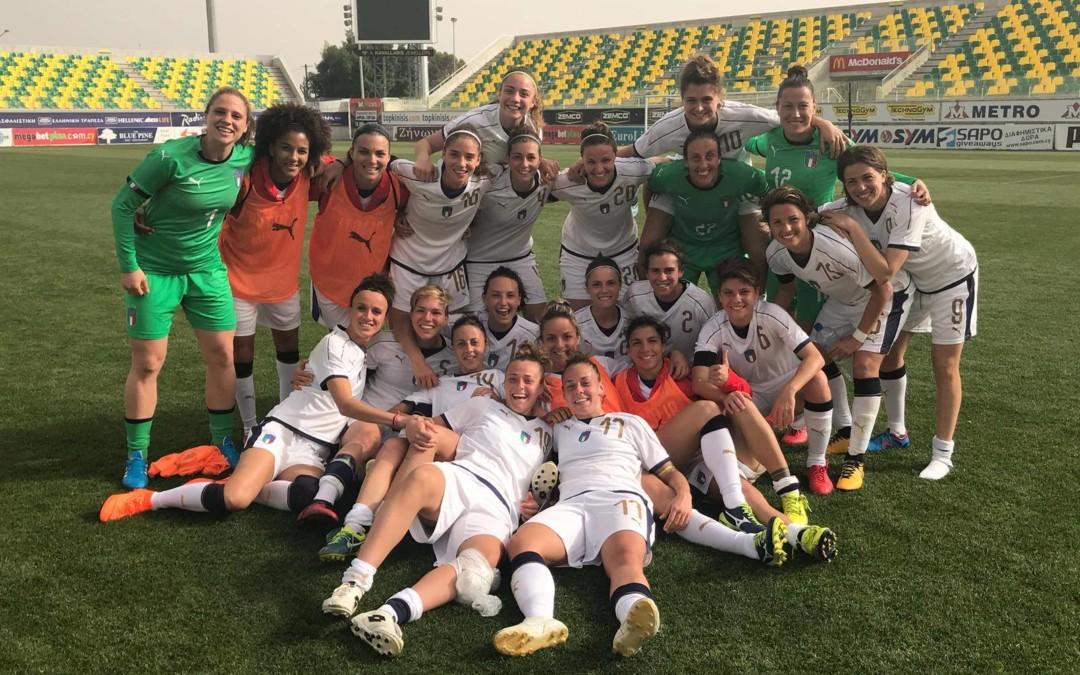 """Allenamento al De Paoli. Cyprus Cup, è sempre più """"Ital-Brescia"""""""