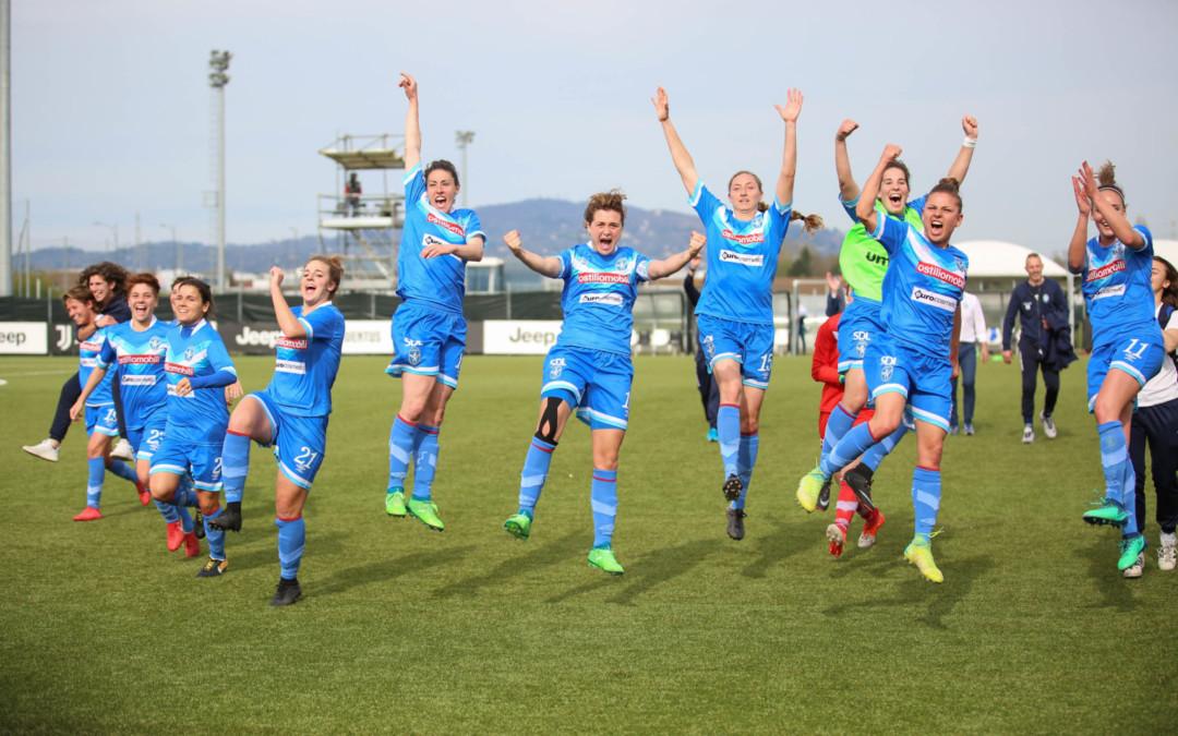Trionfo Brescia CF a Vinovo, la Juve domata in casa per 2-1