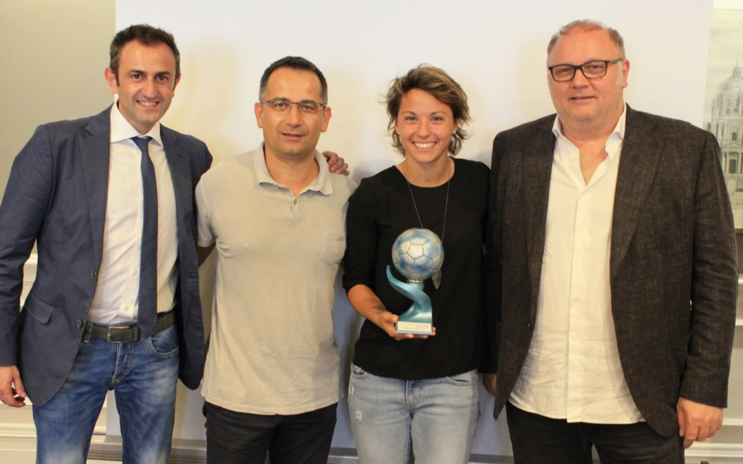 Valentina Giacinti è Top Player of the Year