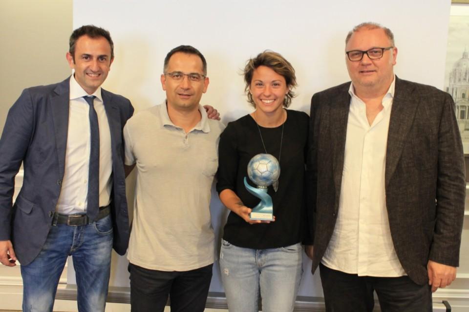 Valentina Giacinti è Top Player of the Year