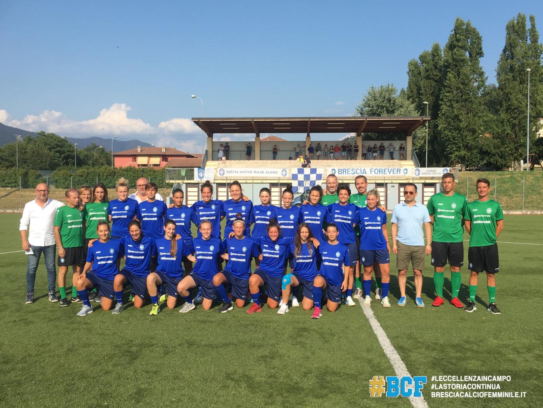 Prende il via la stagione del Brescia Calcio Femminile