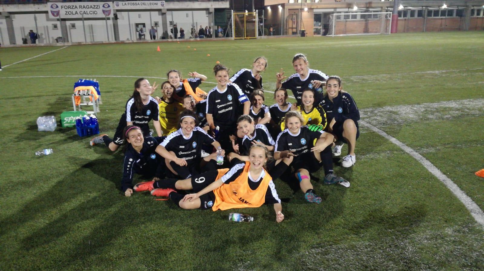 "Splendide Leonessine: le Giovanissime in finale al ""We Love Football"""