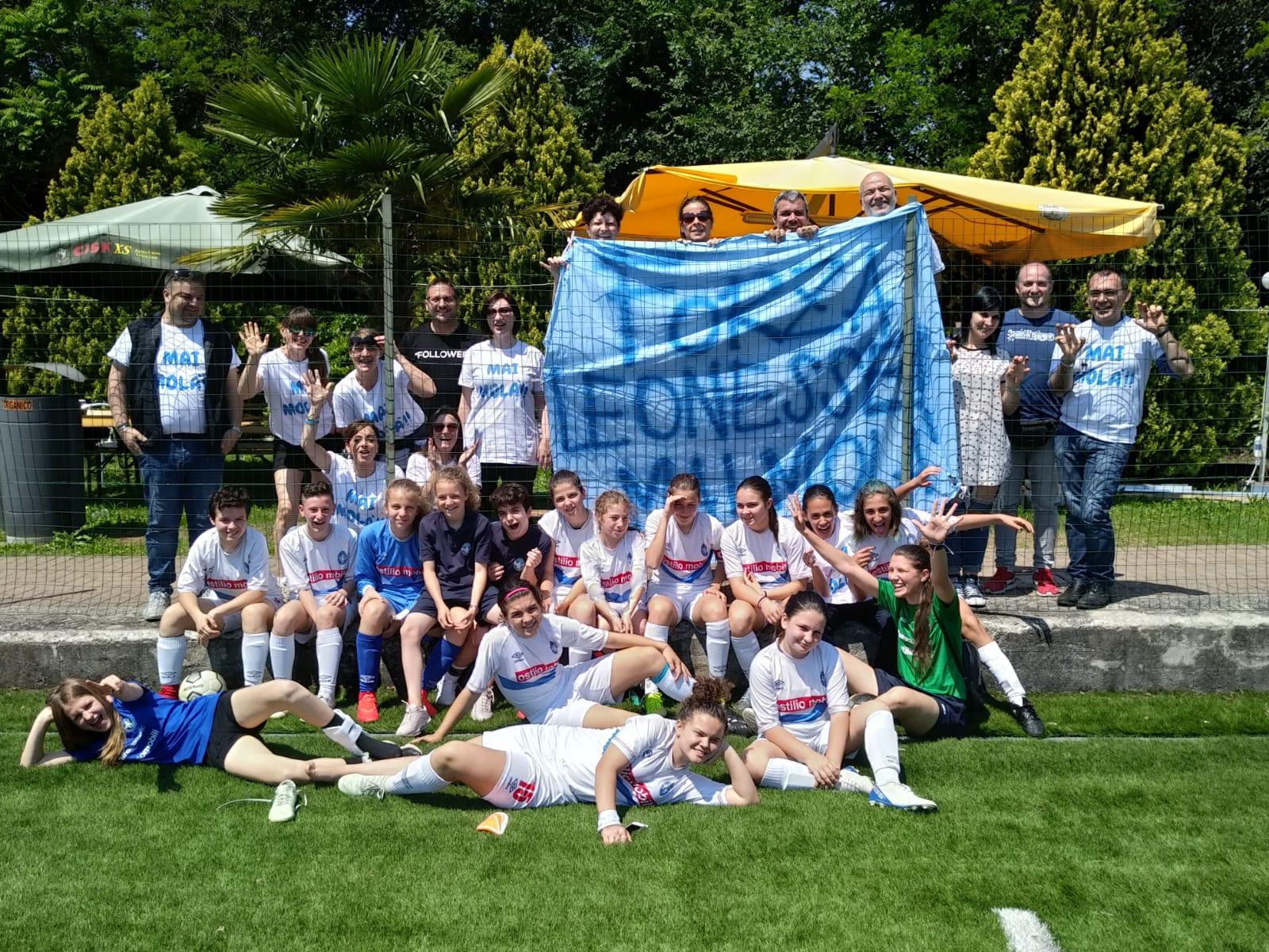 Leonessine: le Esordienti vincono il Torneo di Brescia