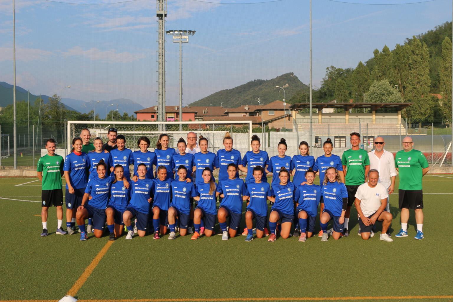 Iniziata la preparazione del Brescia Calcio Femminile