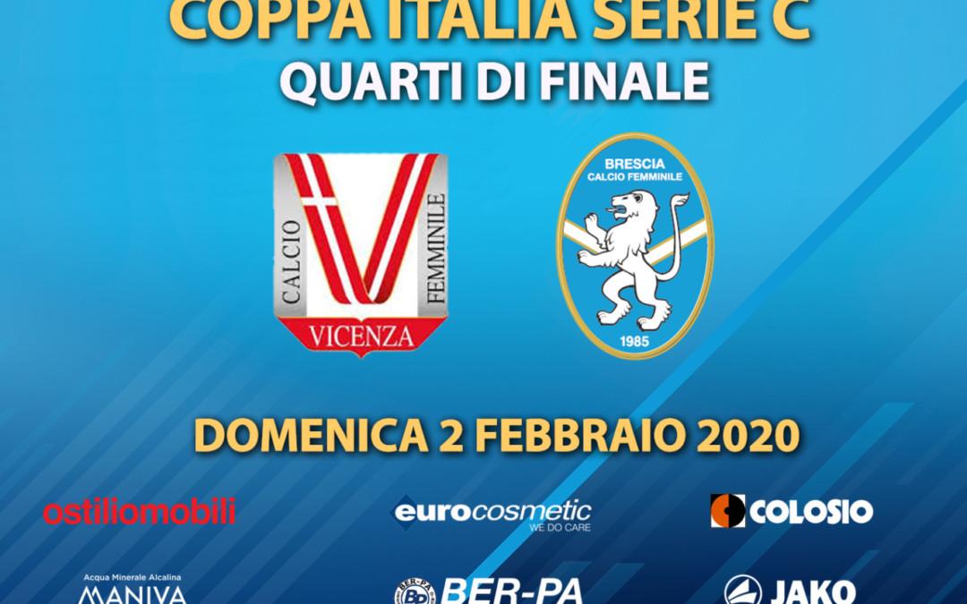 Coppa Italia Serie C: ai quarti sarà Vicenza-Brescia