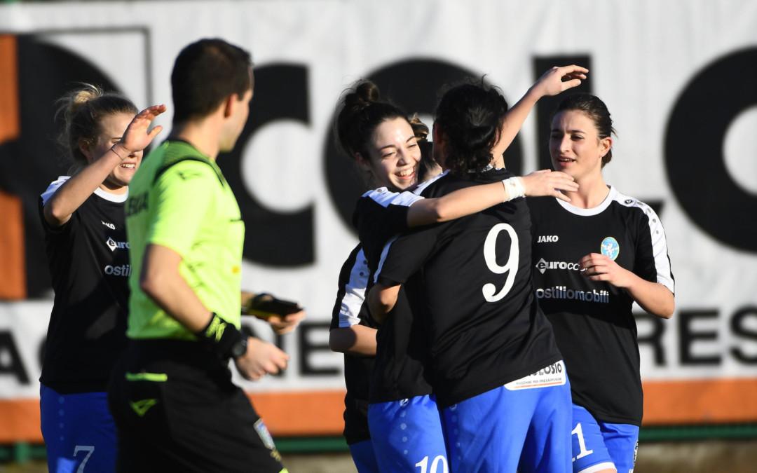 Leonesse straripanti: 7-0 alla Spal
