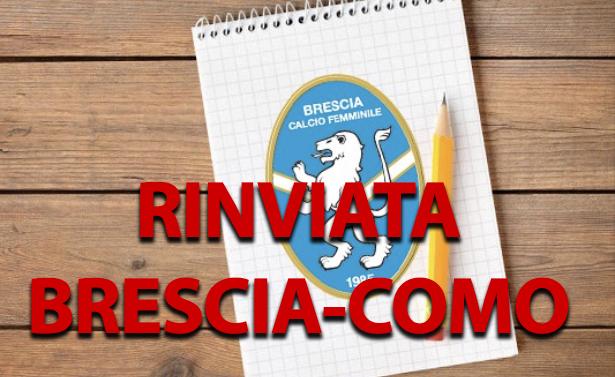 Allarme Coronavirus: rinviata Brescia-Como