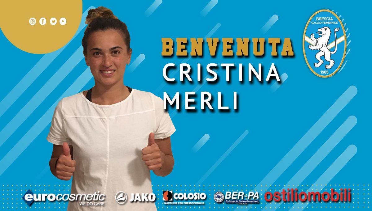 Il Brescia piazza il colpo Cristina Merli