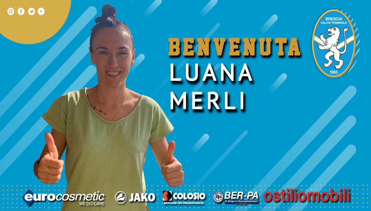C'è Luana Merli per l'attacco biancoblu