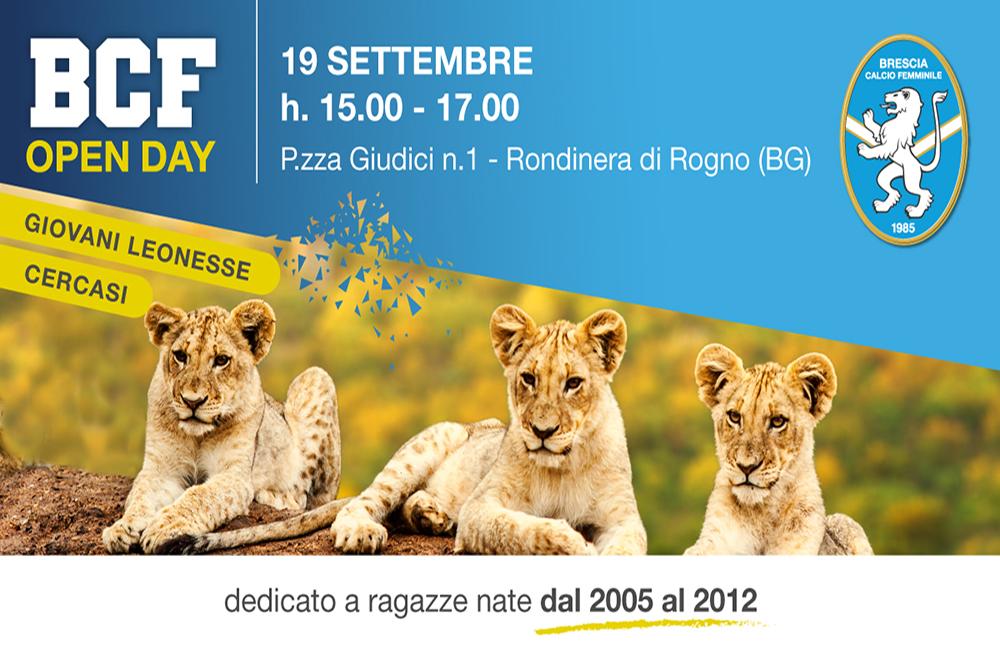 Tornano gli Open Day del BCF: il 19 settembre a Rogno