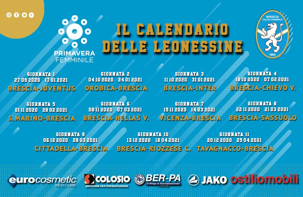 Calendario Partite Brescia Calcio 2021 Campionato Primavera: il calendario delle Leonessine   Brescia