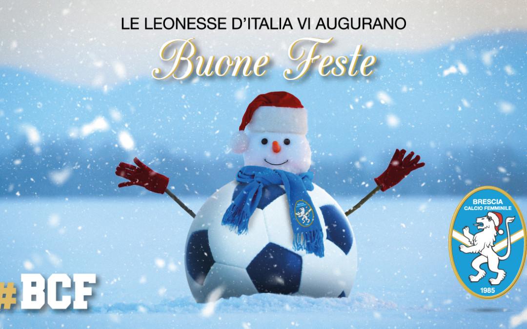 Buone feste dal Brescia Calcio Femminile
