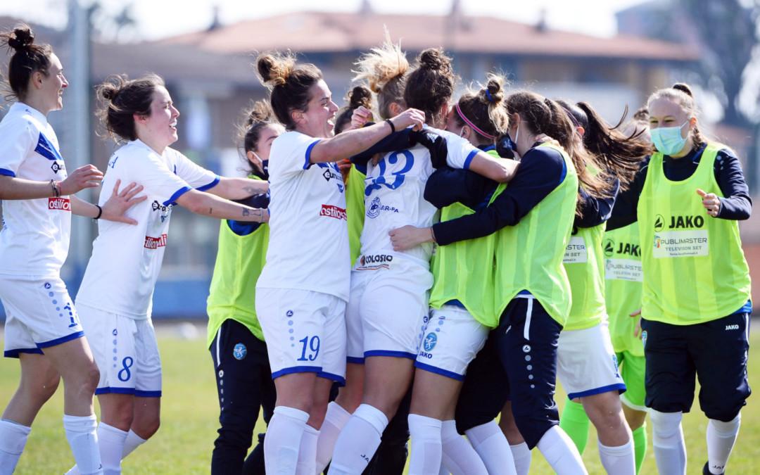 Leonesse tutte testa e cuore: con la Lazio è 1-1