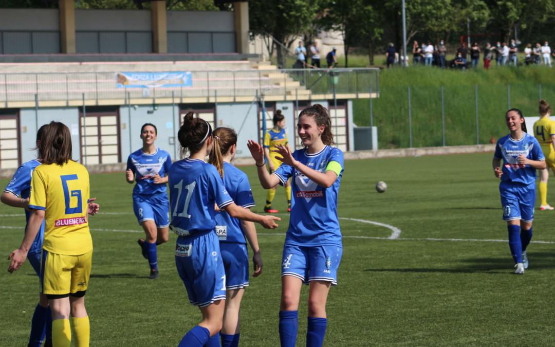 Le Leonessine chiudono in bellezza: 4-0 al Tavagnacco