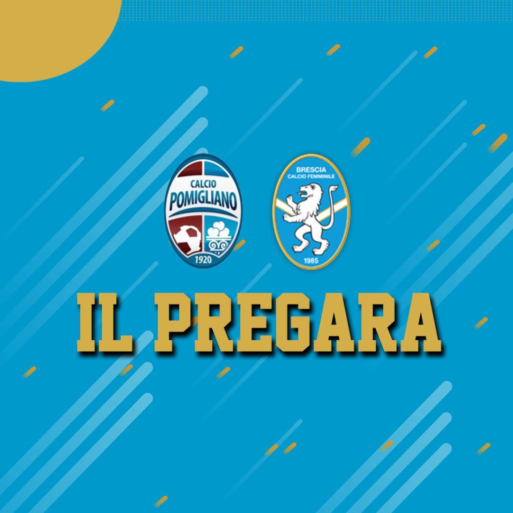 Pomigliano-Brescia: il pregara