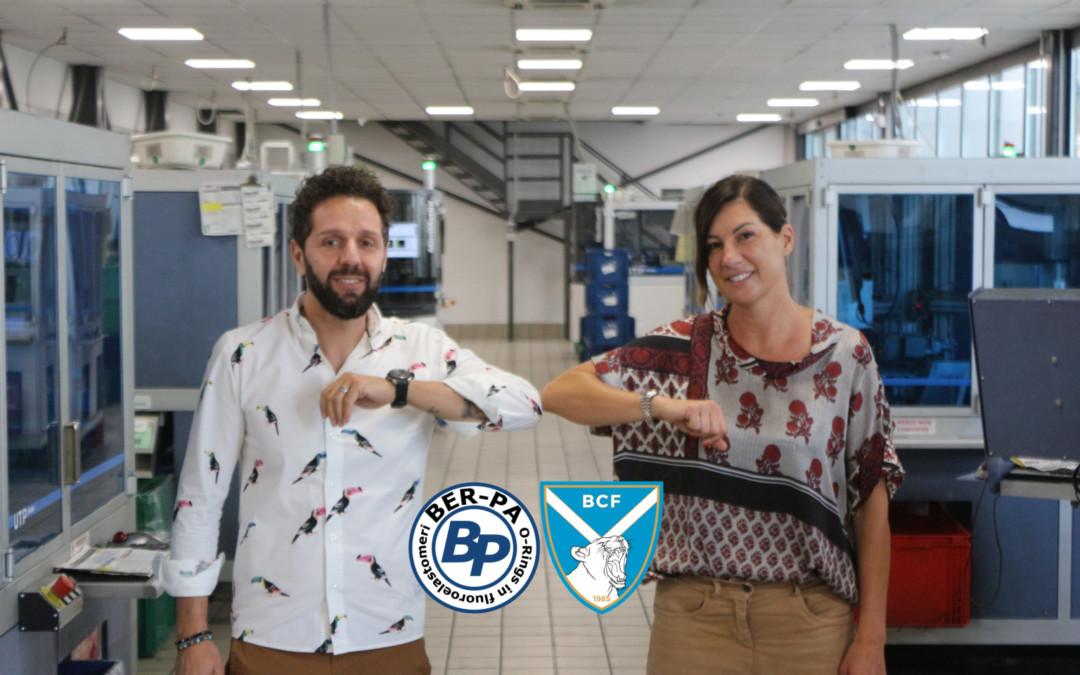 Rinnovato l'accordo di sponsorizzazione con Ber-Pa